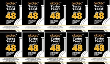 Alcotec Turbohefe Classic 48 - 20% in 5 Tagen! (10 Packungen) - 1