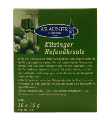 Arauner Kitzinger Hefenährsalz, 10x10g - 1