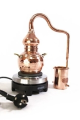 'CopperGarden®' Destille Alembik 0,5 L, elektrisch - 1