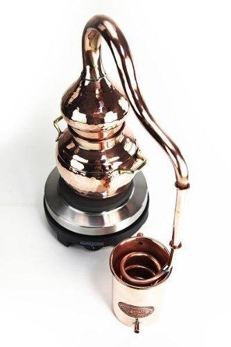 'CopperGarden®' Destille Alembik 0,5 L, elektrisch - 2