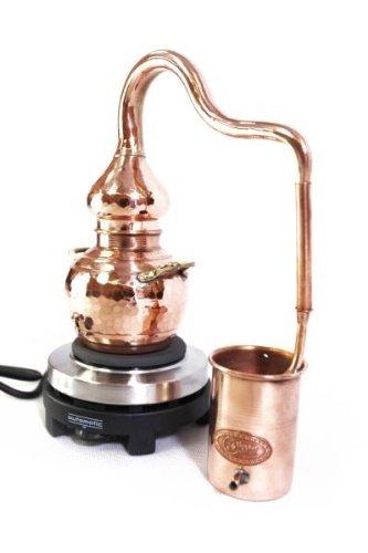 'CopperGarden®' Destille Alembik 0,5 L, elektrisch - 3