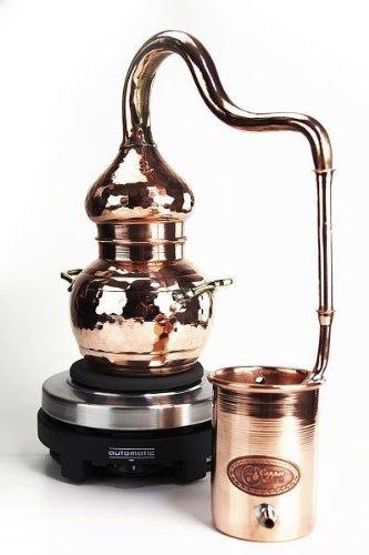 'CopperGarden®' Destille Alembik 0,5 L, elektrisch - 4