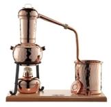 CopperGarden® Destille Arabia 0,5 Liter mit Zubehör - legal Schnapsbrennen und ätherische Öle herstellen - 1