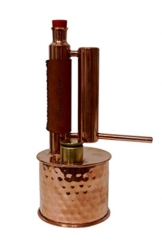 """CopperGarden®"" Destille ""Easy Moonshine"" 0,5 Liter & gratis UDSSR Thermometer - 1"