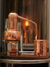 'CopperGarden®' Destillieranlage 0,5L Arabia mit Aromasieb - 1