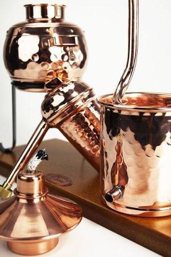 'CopperGarden®' Destillieranlage 0,5L Arabia mit Aromasieb - 2