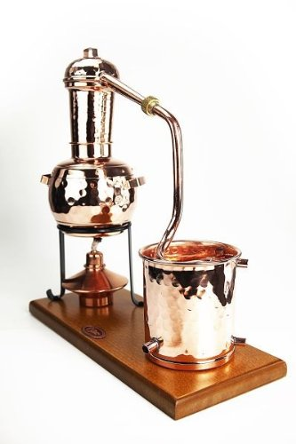 'CopperGarden®' Destillieranlage 0,5L Arabia mit Aromasieb - 3