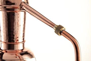 'CopperGarden®' Destillieranlage 0,5L Arabia mit Aromasieb - 6