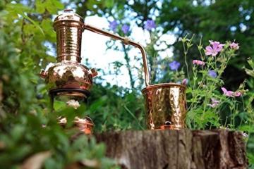 'CopperGarden®' Destillieranlage 0,5L Arabia mit Aromasieb - 7