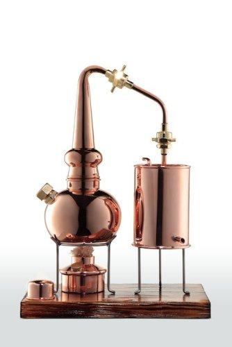 'CopperGarden®' Whiskydestille 0,5 Liter in Supreme Qualität. Legal für Privatpersonen zum Schnaps- und Whiskybrennen - 2