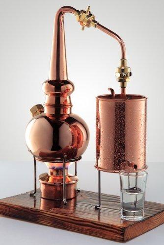 'CopperGarden®' Whiskydestille 0,5 Liter in Supreme Qualität. Legal für Privatpersonen zum Schnaps- und Whiskybrennen - 3