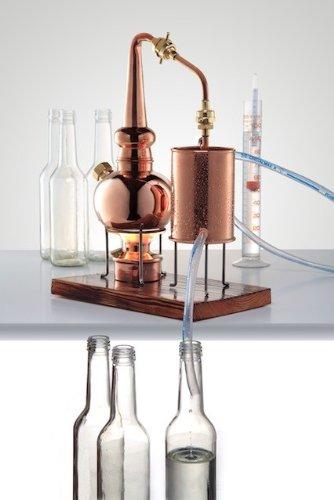 'CopperGarden®' Whiskydestille 0,5 Liter in Supreme Qualität. Legal für Privatpersonen zum Schnaps- und Whiskybrennen - 4