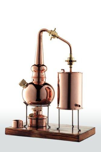 'CopperGarden®' Whiskydestille 0,5 Liter in Supreme Qualität. Legal für Privatpersonen zum Schnaps- und Whiskybrennen - 1