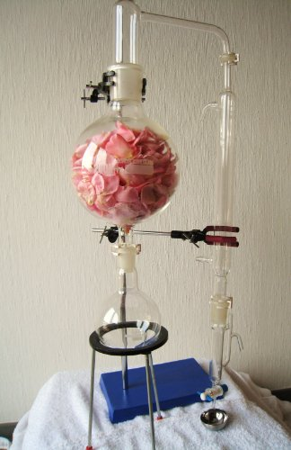 Dr. Richter – Destillationsapparatur für ätherische Öle 0,5L -