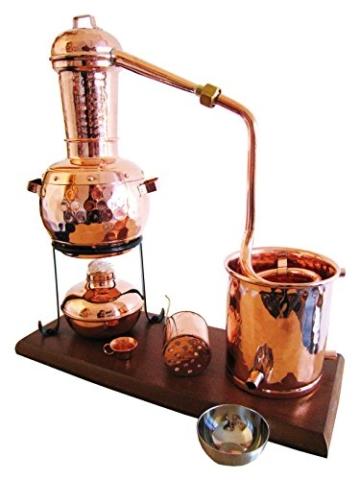 Dr. Richter® – Destille 0,5 Liter – Kalif – mit Aromakorb und Spiritusbrenner -
