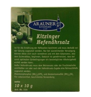 Hefenährsalz – Arauner Kitzinger – 10x10g -