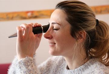 HH-Tec Winzer Refraktometer Alkohol:0-25% Zucker:0-40% mit ATC für Winzer Wein Alkohol Traubensaft Bier Frucht Wein Refraktometer Brix zur Messung des Zuckeranteils - 6