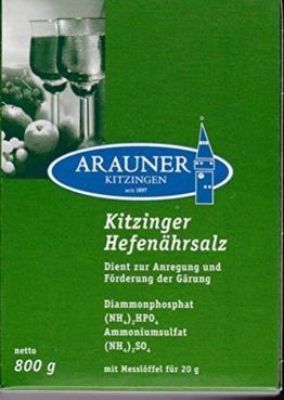 Kitzinger Hefenährsalz 800 g - 1