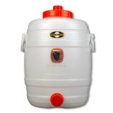 Speidel Fass Getränkefass Mostfass 30L lebensmittelecht rund mit Zubehör - 1