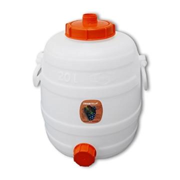 Speidel Getränkefass 20 Liter Rund + Gärspund + Hahn - 2