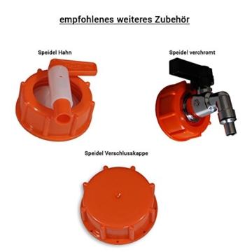 Speidel Getränkefass 20 Liter Rund + Gärspund + Hahn - 7