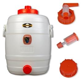 Speidel Getränkefass 30 Liter Rund mit allem Zubehör - 1
