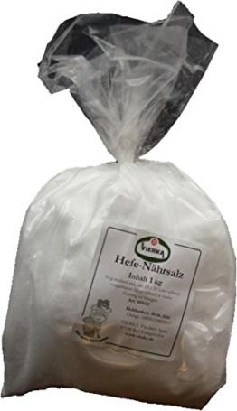 VIERKA-Hefenährsalz reines, hochwertiges Diamonphosphat 1 KG - 1