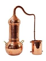 Copper Garden Destille Essence 2 Liter mit Kolonne ❁ Legal in DE, at, IT, CH ❁ Heimbrennerei für Hydrolate und ätherische Öle - 1