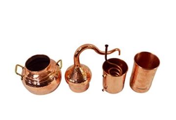 Copper Garden Destille Essence 2 Liter mit Kolonne ❁ Legal in DE, at, IT, CH ❁ Heimbrennerei für Hydrolate und ätherische Öle - 7