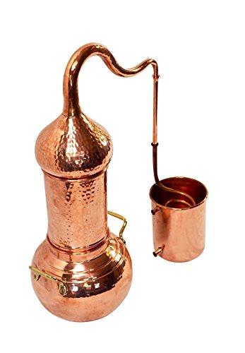 Copper Garden Destille Essence 2 Liter mit Kolonne ❁ Legal in DE, at, IT, CH ❁ Heimbrennerei für Hydrolate und ätherische Öle - 9