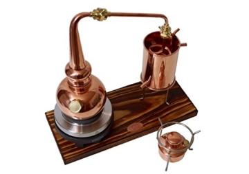 Copper Garden legale Whisky Destille ✿ 0,5 Liter Supreme Electric ✿ Komplettes Set mit Allem Zubehör - 2
