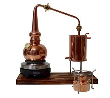 Copper Garden legale Whisky Destille ✿ 0,5 Liter Supreme Electric ✿ Komplettes Set mit Allem Zubehör - 3
