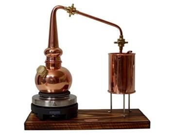 Copper Garden legale Whisky Destille ✿ 0,5 Liter Supreme Electric ✿ Komplettes Set mit Allem Zubehör - 4