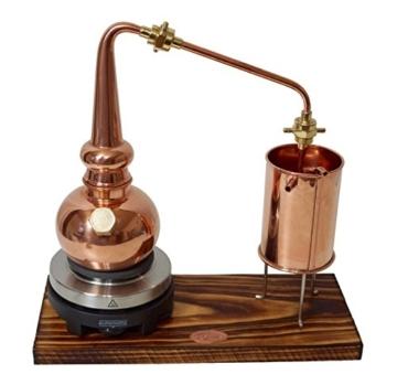 Copper Garden legale Whisky Destille ✿ 0,5 Liter Supreme Electric ✿ Komplettes Set mit Allem Zubehör - 5