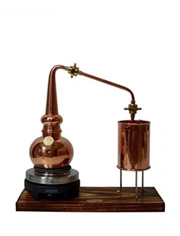 Copper Garden legale Whisky Destille ✿ 0,5 Liter Supreme Electric ✿ Komplettes Set mit Allem Zubehör - 6