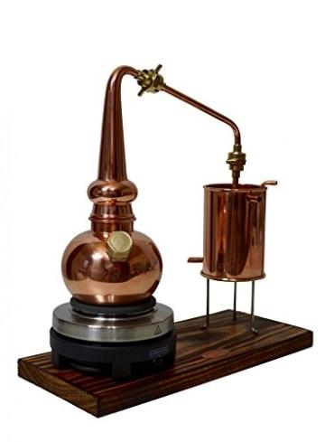 Copper Garden legale Whisky Destille ✿ 0,5 Liter Supreme Electric ✿ Komplettes Set mit Allem Zubehör - 7