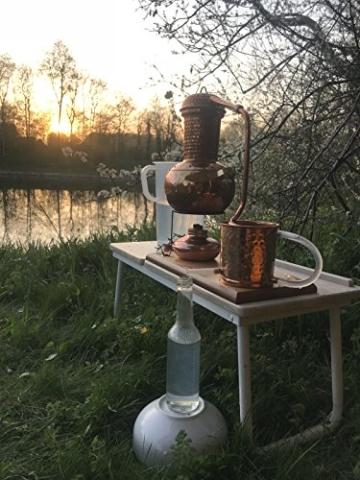 'CopperGarden' Destillieranlage Arabia 2 Liter ❁ Elektrisch 500 Watt ❁ Mit Aromasieb ❁ neues Model 2018 ❁ jetzt meldefrei und legal in DE, AT, CH - 7