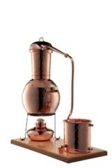 'CopperGarden' Tischdestille Arabia 2 Liter ❁ mit Spiritusbrenner & Aromasieb ❁ neues Modell 2018 ❁ meldefrei in Deutschland, Österreich und Schweiz - 1